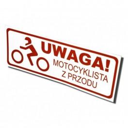 Magnes: Motocylkista z przodu