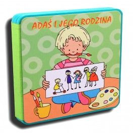 Gąbka: Adaś i jego rodzina