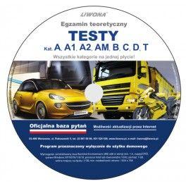 DVD Testy kat. A, A1, A2,...
